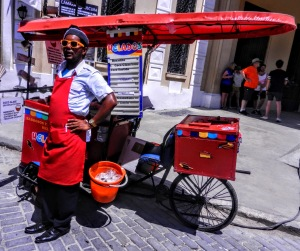 Alex, the Beyonce of Ice Cream in Havana