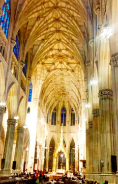 St. Patrick's Cathedral, NYC. Photo by Christa Avampato.