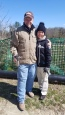 Me and Ken at the fossil park