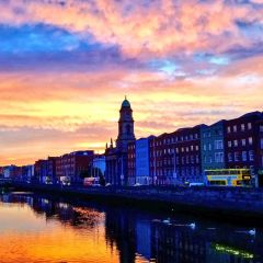 Sunrise over the River Liffey by Christa Avampato
